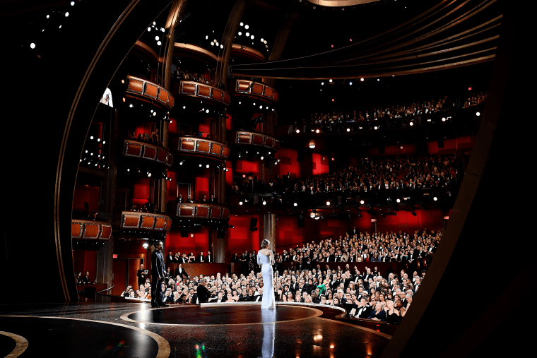 Image: Renee Zellweger accepts the award for Best Actress at the 92nd Annual Academy Awards on Feb. 9, 2020.