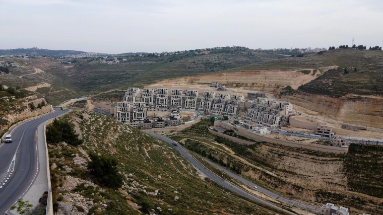 Image: Jewish settlement of Givat Zeev