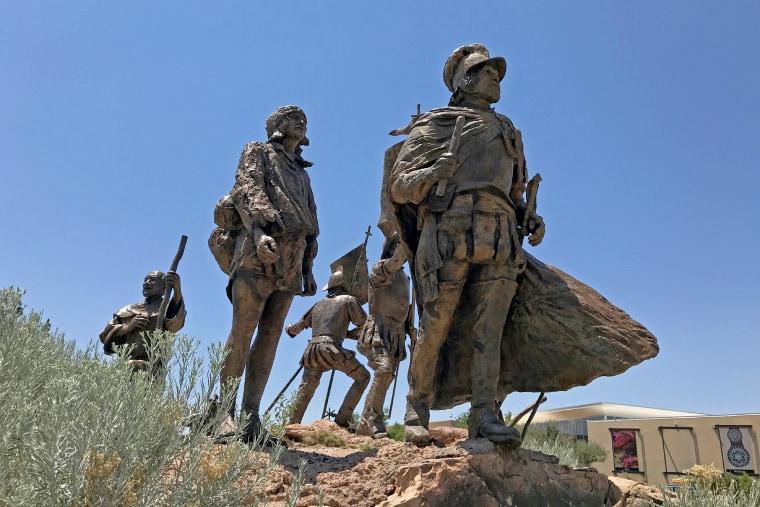Image: Juan de Onate statue
