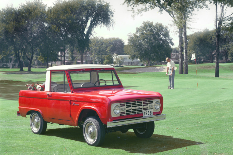 The 1966 Ford Bronco