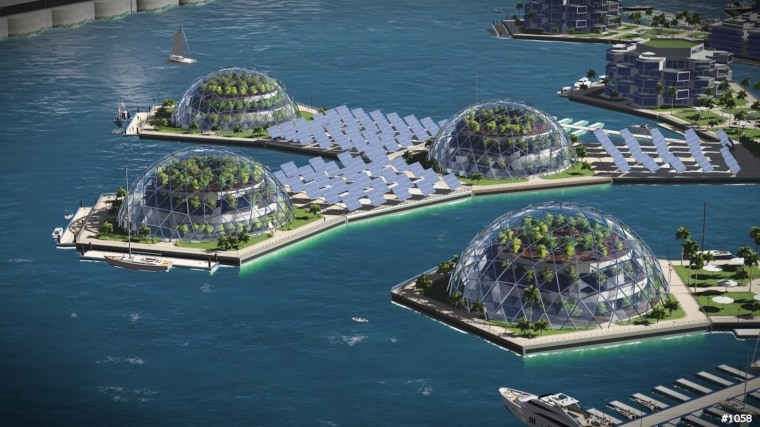 Image: Artisanopolis - Sustainable domes and power-grids