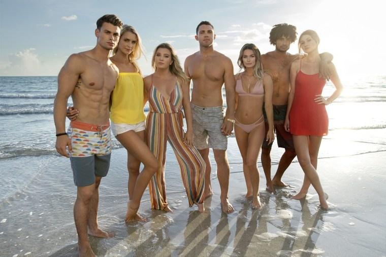"The cast of ""Siesta Key"" on MTV."