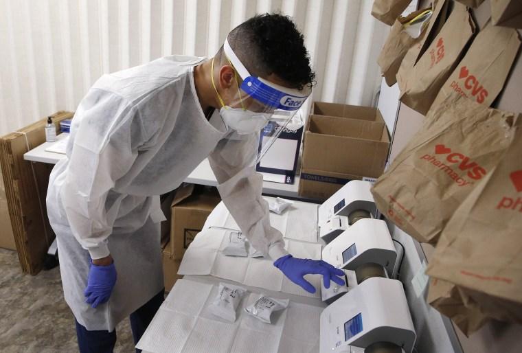 Image: Coronavirus testing
