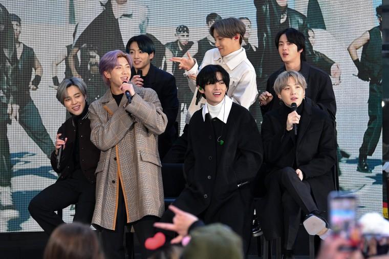"Image: K Pop Band BTS Visits ""Today"" Show"