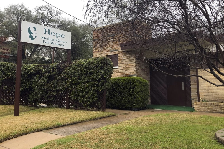 Image: An exterior photo of the Hope Medical Group for Women on Feb. 20, 2020, in Shreveport, La.