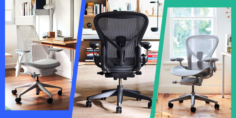 An appropriate and quality desk chair can help better position your body at your desk and make sitting easier on your back.