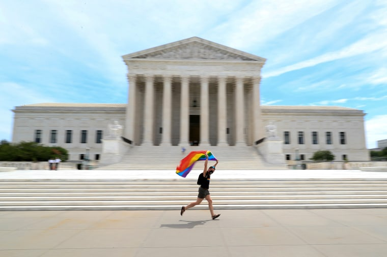 Image: U.S. Supreme Court rules that a federal law banning workplace discrimination also covers sexual orientation in Washington