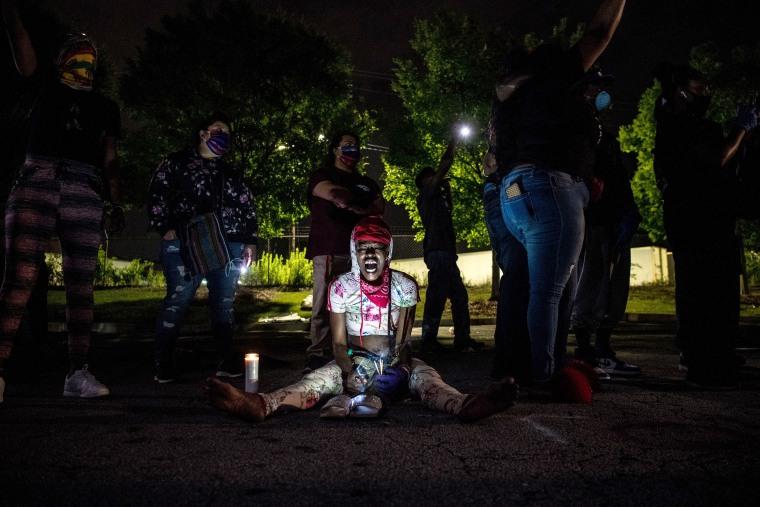 Image: TOPSHOT-US-POLITICS-POLICE-RACISM-SHOOTING