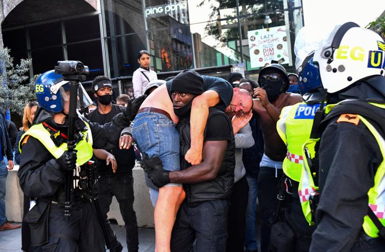 Image: Black Lives Matter protest in London