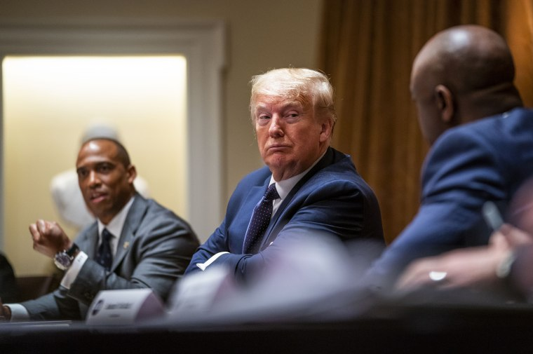 Image: President Trump Holds Meeting On Opportunity Zones