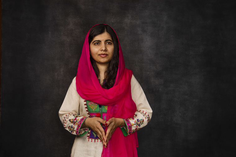 Image: Malala Yousafzai is a Pakistani activist for female education and the youngest Nobel laureate.