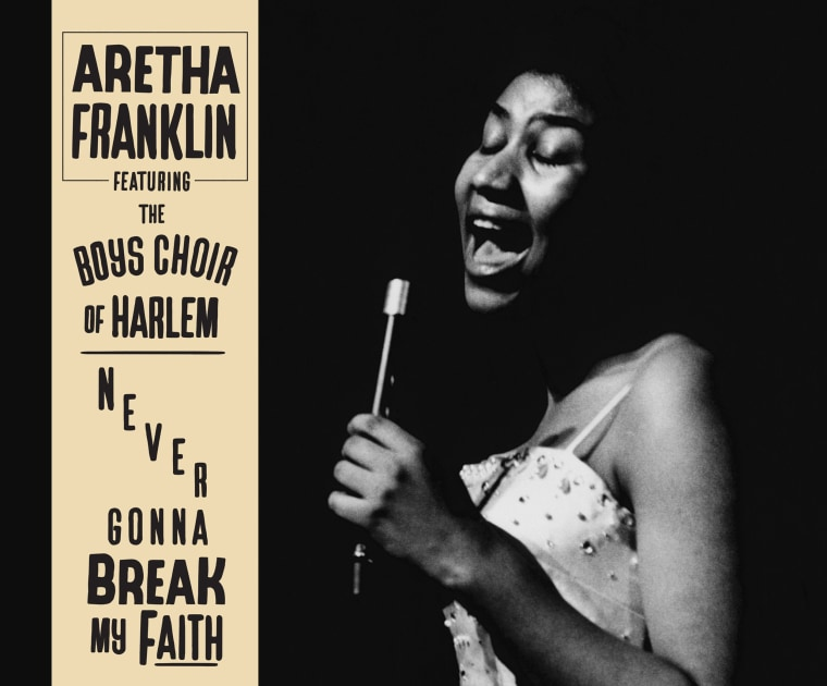"""Image: """"Never Gonna Break My Faith,"""" a never-before-heard solo version of Aretha Franklin's riveting and powerful collaboration with Mary J. Blige."""