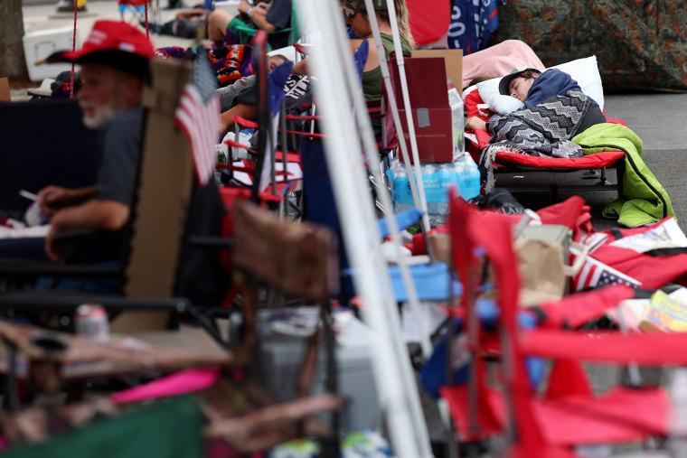 Image: Tulsa, Oklahoma Prepares To Host Trump Rally On Saturday