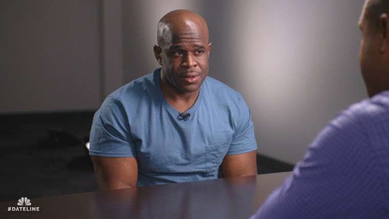 """Malcolm Scott speaks to Craig Melvin part of the Dateline NBC special """"The Long Road to Freedom."""""""