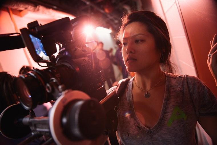 """Tiffanie Hsu is one of 20 AAPI screenwriters spotlighted by the annual Coalition of Asian Pacifics in Entertainment List, which promotes some of the best unproduced scripts of the year. Hsu previously directed the Netflix documentary """"Waterschool."""""""
