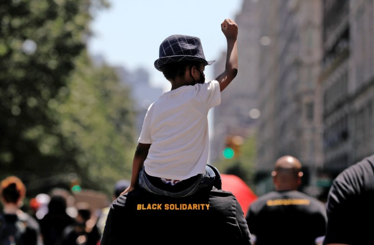 Image: People take part in events to mark Juneteenth, which commemorates the end of slavery in Texas, in New York