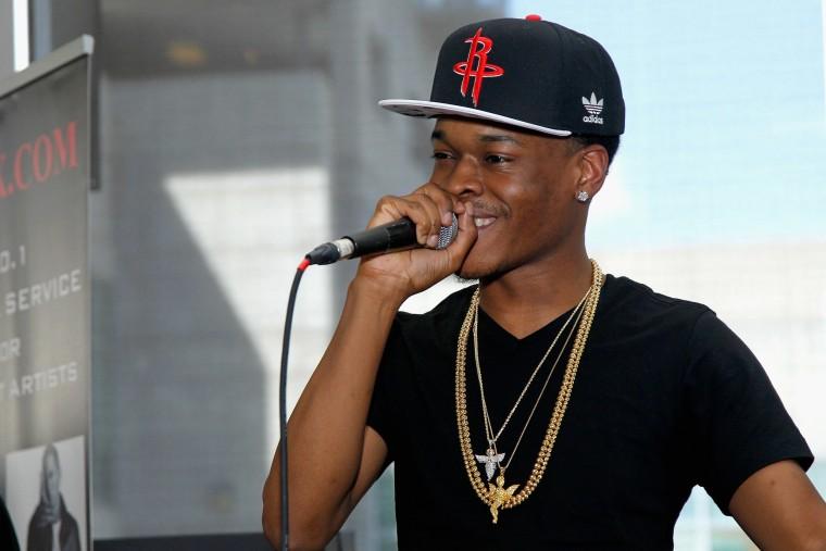 Rapper Hurricane Chris in 2014.