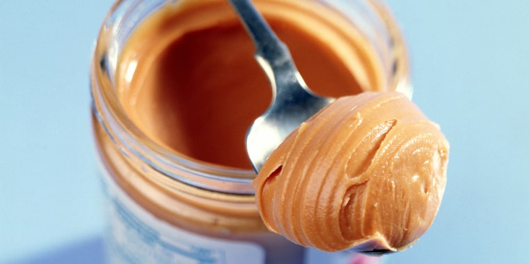 Spoonful of peanut butter