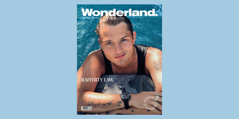 Rafferty Law looks just like his dad, Jude Law, in a new photo shoot.