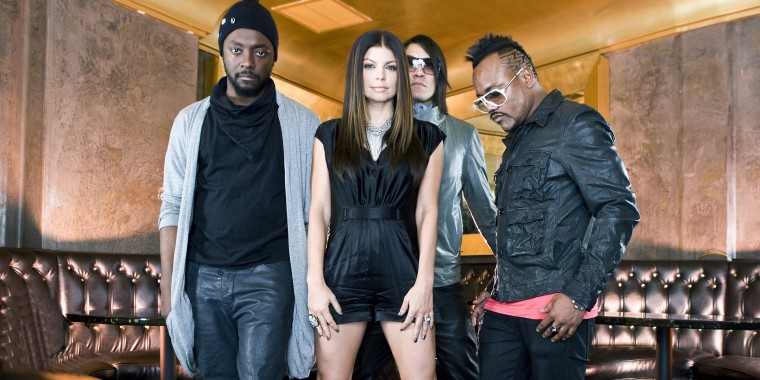 Black Eyed Peas portrait and performance 2009
