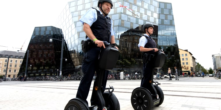 German police on segways