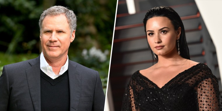 "Will Ferrell and Demi Lovato both star in the new film ""Eurovision Song Contest: The Story of Fire Saga."""