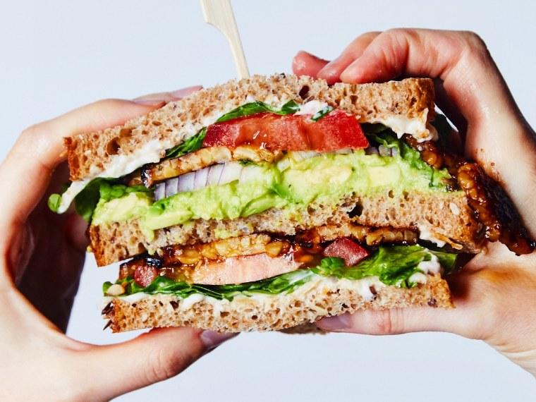 "Chloe Coscarelli's Maple ""Bacon"" BLT Sandwich"