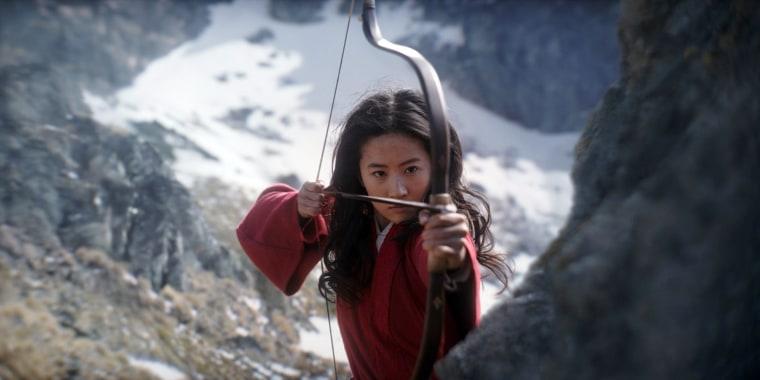 Liu Yifei in 'Mulan'.