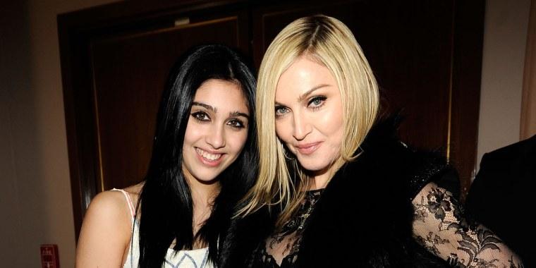 Lordes Leon and Madonna