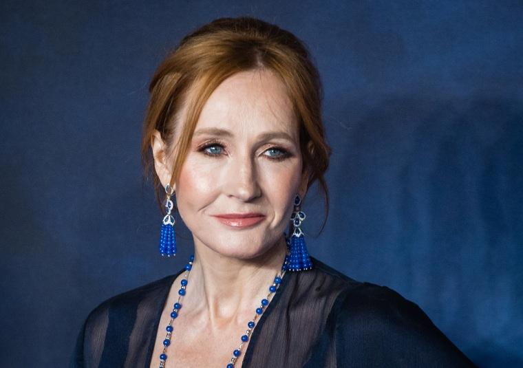 """Image: JK Rowling, \""""Fantastic Beasts: The Crimes Of Grindelwald\"""" UK Premiere - Red Carpet Arrivals"""