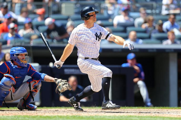 Image: New York Mets v New York Yankees
