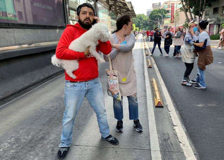 Imagen: Un terremoto en la Ciudad de México