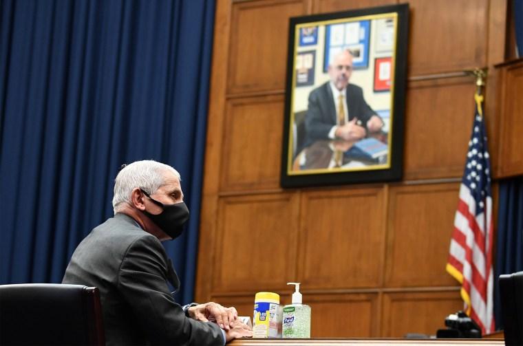 Image: House Hearing on COVID-19 Response in Washington, DC