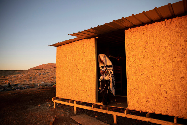 Image: A Jewish settler