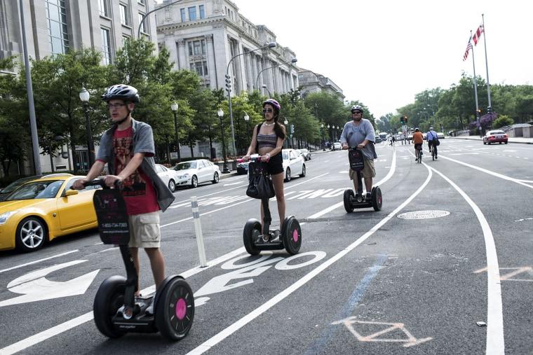 Image: segway tour in DC