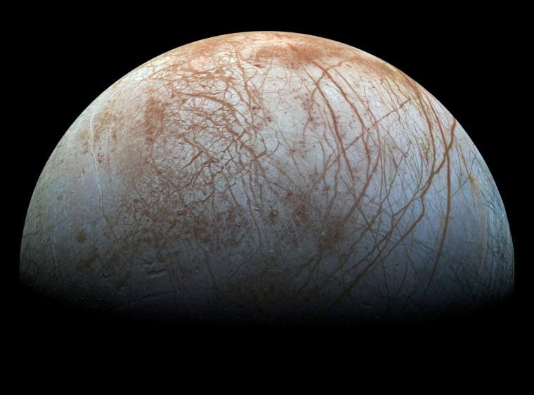 Image: Jupiter's moon Europa