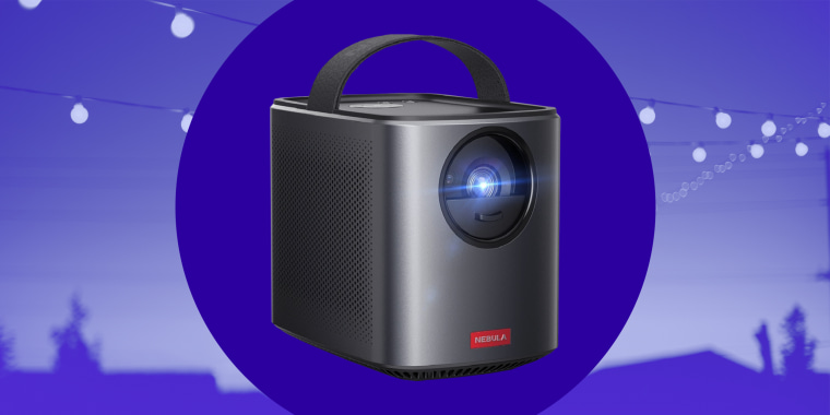 The Nebula by Anker Mars II Pro Projector delivers a 720p image at 500 lumens, and can project an image up to 150 inches in size.