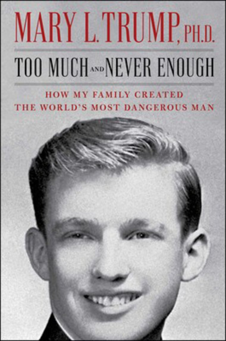 IMAGE: 'Too Much and Never Enough' by Mary L. Trump