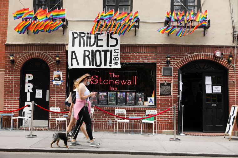 Image: Landmark Bar Stonewall Inn Launches Fundraiser To Avoid Going Out Of Business Due To Pandemic Shutdown
