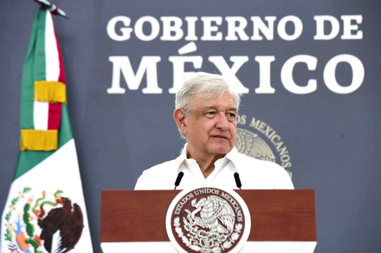 Image: Mexico's President Andres Manuel Lopez Obrador