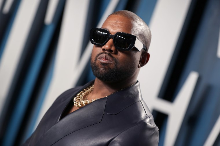 Image: Kanye West attends the 2020 Vanity Fair Oscar Party hosted by Radhika Jones at Wallis Annenberg Center for the Performing Arts
