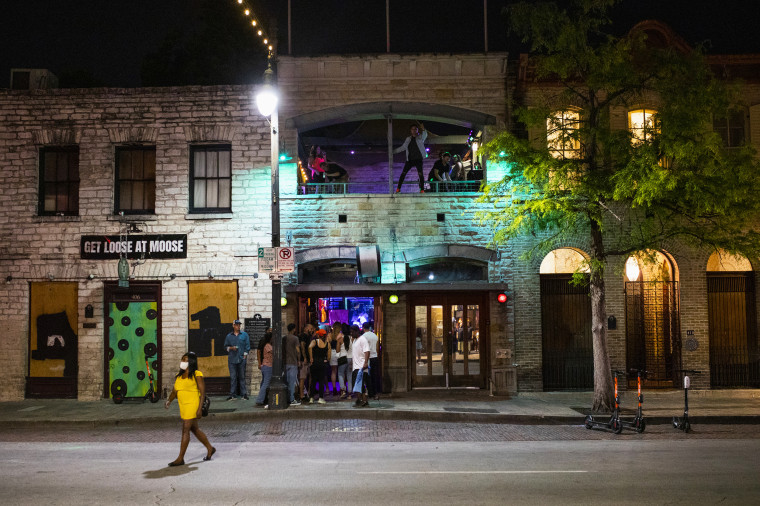 Bars And Restaurants Reopen As Governor Greg Abbott Tries To Revive Texas Economy Battered By Pandemic