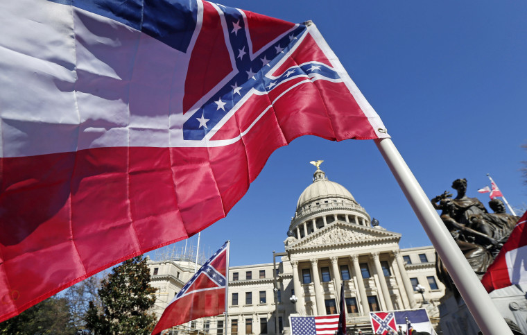 Image: Mississippi state flag