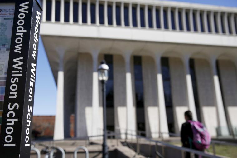 Image: Princeton University's Woodrow Wilson School of Public and International Affairs
