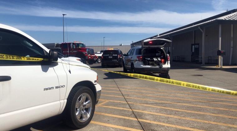 Image: Walmart Distribution Center shooting
