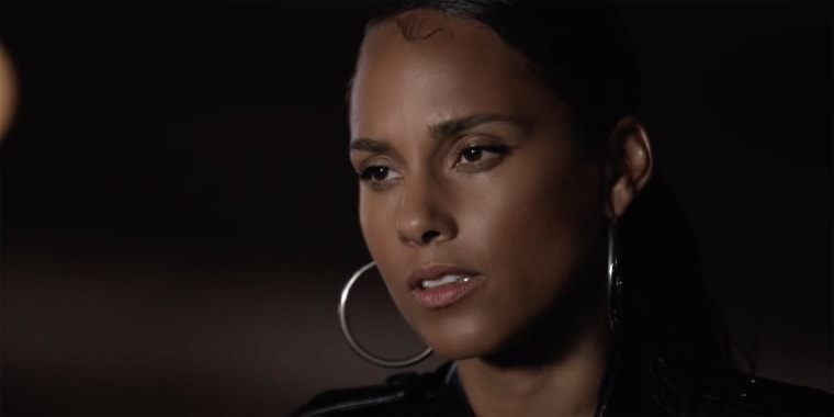 """Alicia Keys performed """"Perfect Way to Die"""" at Sunday night's 2020 BET Awards, honoring George Floyd, Breonna Taylor and other Blacks lives cut short."""