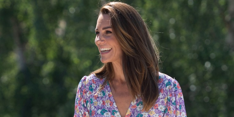 Duchess of Cambridge Delivers Plants To EACH Hospice