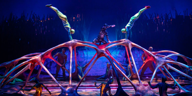 "Cirque Du Soleil ""TOTEM"" Premiere In Dusseldorf"