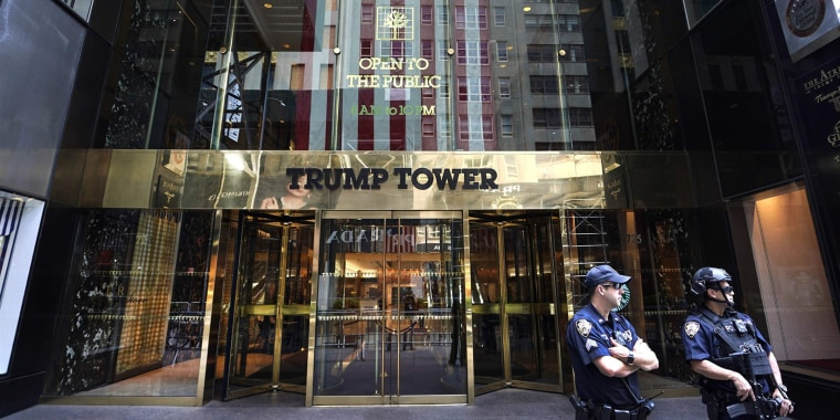 Trump Tower on Fifth Avenue in New York City on June 22, 2020.