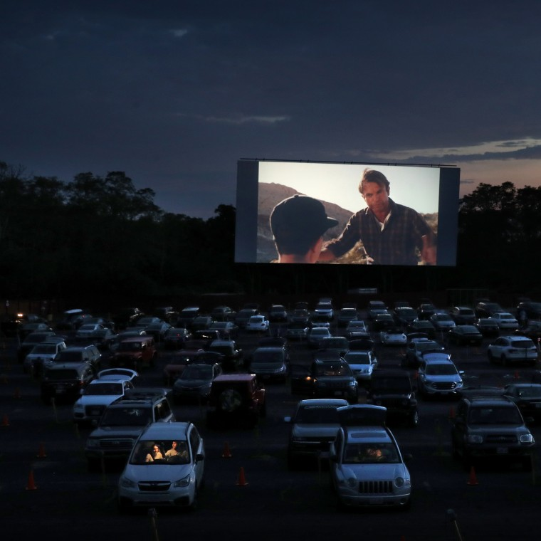 Visiting The Drive-In As Movie Theaters Remain Closed
